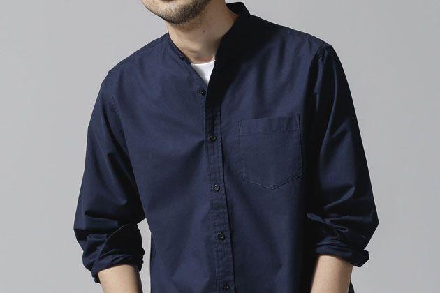 ネイビーシャツを着こなそう! 知的で上品な大人コーデの参考集