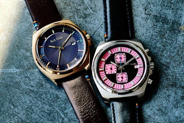 """大人は""""腕時計で遊ぶ""""時代。ポール・スミスで読み解く2つの旬な選択肢"""