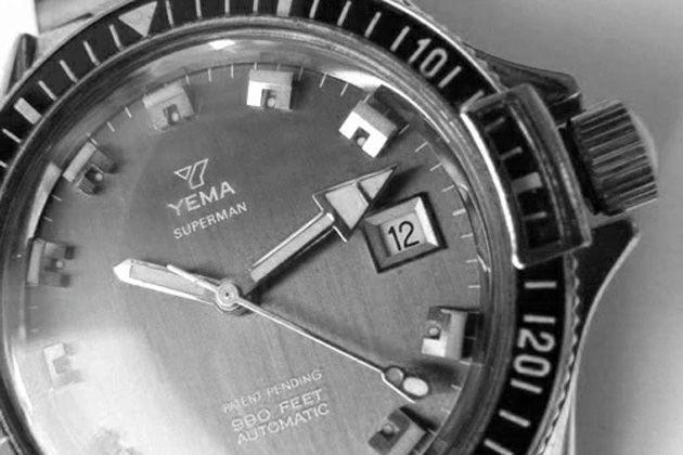 大人好みのレトロ顔。フランス発、イエマ(YEMA)の時計が面白い
