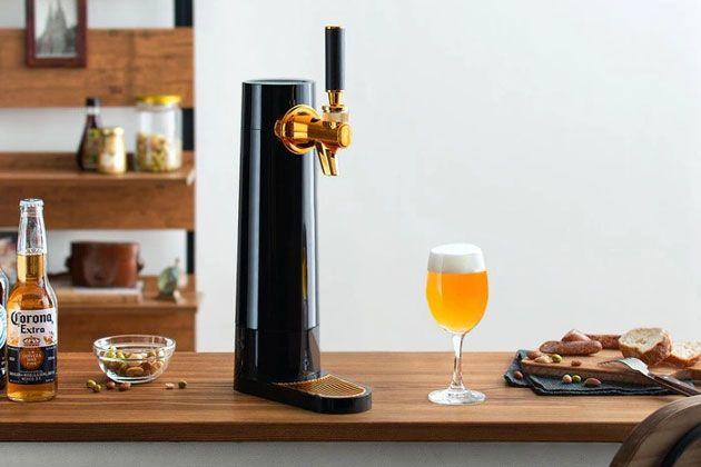 家庭用ビールサーバーで家飲みが変わる。泡までおいしい1杯を自宅でも