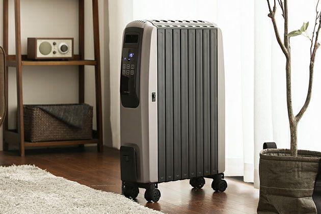 クリーンでエコ。オイルヒーターこそ今にぴったりの暖房器具