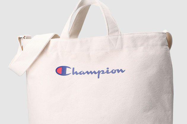 タフさに定評あり。チャンピオンのリュックとトートバッグの魅力に迫る