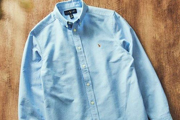 大人なら持っておかなくちゃ。ラルフローレンのシャツはやっぱり名品だ