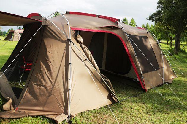 デザインも品質も高次元。スノーピークのテントで叶える極上キャンプライフ