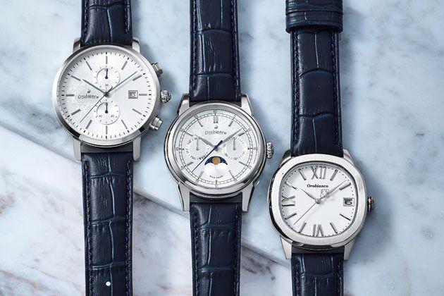 この夏大人は、ホワイト文字盤×ネイビーストラップの腕時計に頼るべし