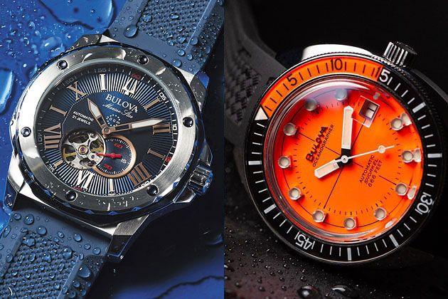 この存在感が心強い。海を感じる腕時計の名品を老舗ブランド、ブローバで見つけた
