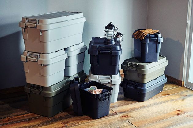 トランクカーゴを使いこなそう。知って得する収納術とおすすめの活用方法|家でも使えるアウトドアなモノ