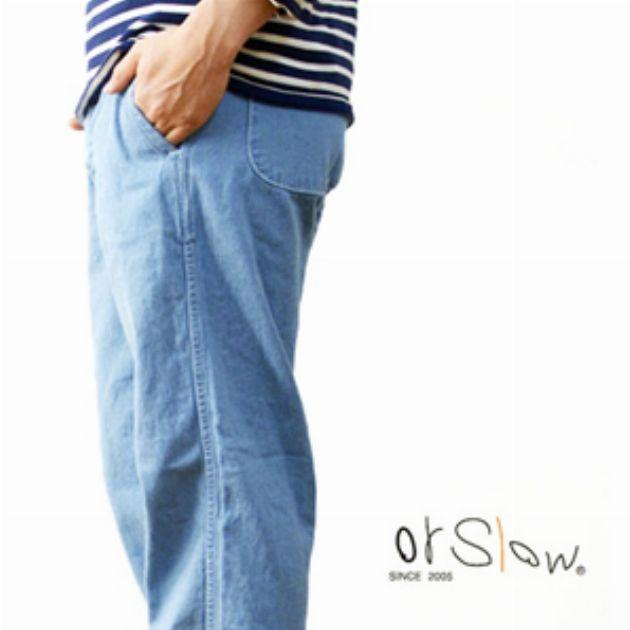 国産ブランド、オアスロウが展開するデニムの魅力とは
