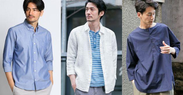 大人の7分袖シャツはシンプルがいい。着こなしやすい8点をレコメンド