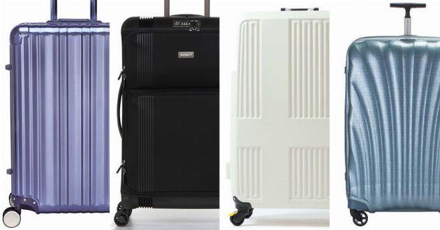 スーツケースの選び方。容量やディテールの違いを比べてみました