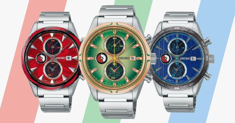 """""""あの日""""の冒険を腕時計に。大人になった今、選ぶのはどのポケモン?"""