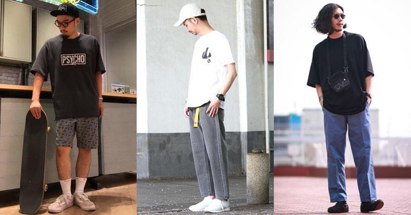 メンズファッション 夏 30代