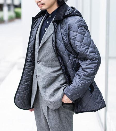 軽くて暖か。大人の味方、キルティングジャケットといえばやっぱり『ラベンハム』