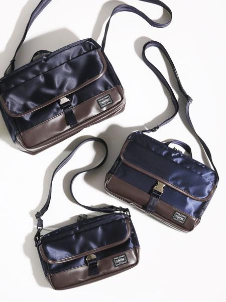1DAYから軽めの外出まで。サイズによって使い分けたいショルダーバッグ
