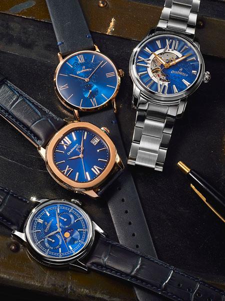 洗練された男らしさ。青文字盤は、大人が選ぶべき腕時計の筆頭だ