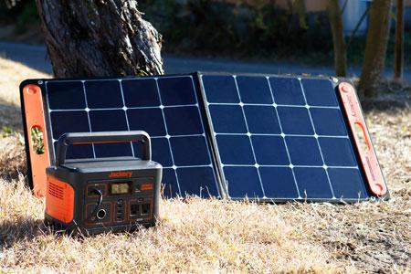 出先のバッテリー切れも慌てない。シガーソケットやソーラーパネルから給電が可能 2枚目の画像