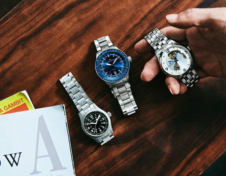 こだわりのスタイルを完結させる3本の腕時計で、この春の着こなしを確かなものに