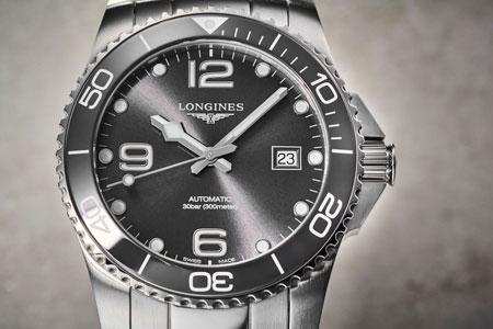 ▼スポーティな腕時計がお好みなら「ハイドロコンクエスト」も選択肢に
