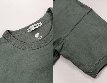 ガシガシ着込んで味を出したい。地厚でコシのある王道の天竺Tシャツ 2枚目の画像