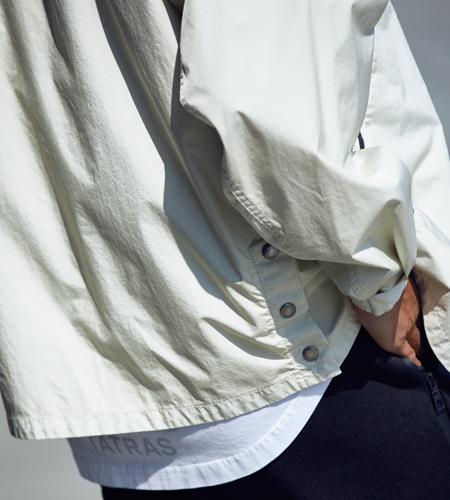 スポーティ感を落とし込んだミリタリーパーカー「セオ」 4枚目の画像