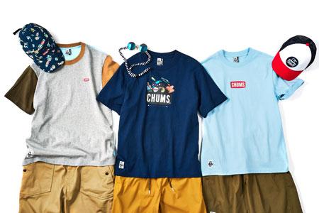 この春夏は綿から違う。袖付けにもこだわった、『チャムス』の新作Tシャツ