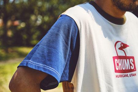 この春夏は綿から違う。袖付けにもこだわった、『チャムス』の新作Tシャツ 2枚目の画像