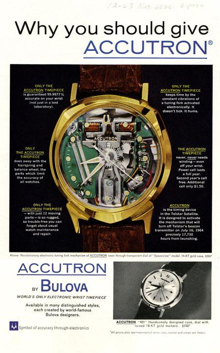 腕時計史に輝く名作も多数。1875年より続く名門『ブローバ』とは 2枚目の画像