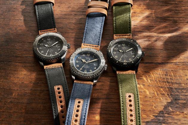 レトロ顔の新作ソーラー時計に注目。フォッシルの新作は大人の腕元にちょうど良い