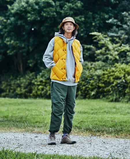 ▼キャンプ服にもゆったりこなれた街着にも。今っぽく使いやすい「テンポ フレックス ウォータープルーフ」 2枚目の画像
