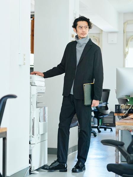▼働き方2:気楽なオフィスカジュアルがいいね。来客対応ほとんどナシ、の「内勤派」